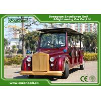 Excar Red Electric Classic Cars With Trojan Battery ,CE Approved for sale