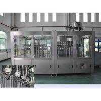 Wholesale Monoblock Drinking Fruit Juice Production Line , 3 In 1 Rinsing Filling Capping Machine from china suppliers