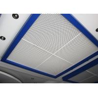 Wholesale Perforated Metal Suspended Ceiling Tiles with Sound Insulation on Steel / Aluminum Sheet from china suppliers