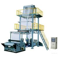 China LLDPE Plastic Film Blowing Extrusion Machine Line on sale