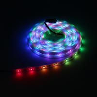 China Durable Soft LED Tape Strip Lights 28 LEDs Per Meter For Christmas Event Show on sale