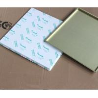 Buy cheap Square Decorative Aluminum Artistic Ceiling Tiles Lay In Panel Building Interior from wholesalers