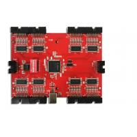 China Red Soldermask PCBA PCB Assembly Services High Voltage Power Supply Application on sale