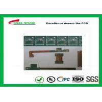 Rigid-Flex Quick Turn PCB Prototypes Base on IPC-2223 Guidelines Yellow and Green
