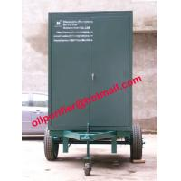 Oil Filtration System Trailer-mounted Hi-vac Transformer Oil Purifier, Dielectric Oil for sale
