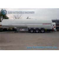 China Q235 Carbon Steel 23.5 Ton LPG Tank Trailer 3 Axles With 12 Tires on sale
