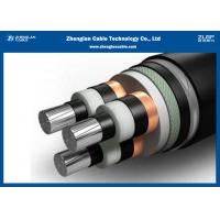 China Copper Power Station Underground Cables 35 KV XLPE/PVC Insulated Medium Aluminium on sale