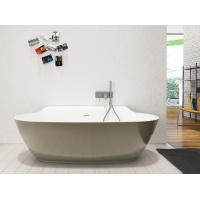 China Chemical Resistance Freestanding Soaking Bathtub Stand Alone Bathtubs for sale