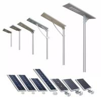 manufacturer ce rohs wholesaler Brand LED 180lm/W outdoor ip65 led ip65 20 w 40 w all in one solar led street light for sale