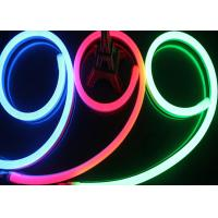 Wholesale AC 220V Input Neon Led Light Strips , LEDs / M Waterproof RGB Neon Rope Light from china suppliers