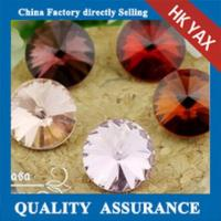 Wholesale High quality and shiny glass chaton rhinestone,chaton glass stone,glass chaton stone from china suppliers