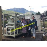 multi-stage vacuum oil filtering, purifier transformer oil filtration machine, gas content less than 0.1% after cleaning for sale