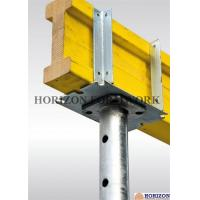 Q235 Steel Steel Formwork System Four - Way Fork Head Supporting H20 Beams