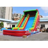 Wholesale 8 meters high custom design inflatable pirate water slide with digital printing from China factory from china suppliers