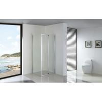 Best Foldable Bathroom Shower Enclosures Installed with Fixed Side Panel wholesale