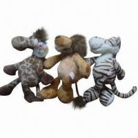 Wholesale Animal-shaped Plush Toys, Made of Polyester and PP Cotton, Measures 20,25 and 30cm from china suppliers