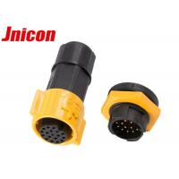 M19 Waterproof Multi Pin Connector 18 Pin And 16 Pin For Signal Data Connection