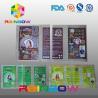 Customized PVC  Shrink Sleeve Labels For Plastic Bottle Packaging for sale