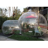 Wholesale 6m Large Outdoor Camping Clear PVC Bubble Tent Inflatable Bubble Tent from china suppliers