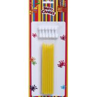 Wholesale Yellow Birthday Party Candles (GSC0027) from china suppliers