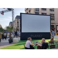 Wholesale Advertising Blow Up Projector Screen PLAD-158 CE / UL Certificate Blower from china suppliers