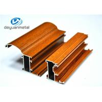 Wholesale Customized Wood Grain Aluminum Profiles For Doors Wear Resistance from china suppliers