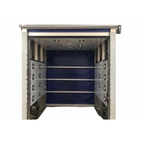 Buy cheap PVC Fast Rolling Door SS/SUS304 Tunnel Cargo Air Shower/ Air shower tunnel from wholesalers