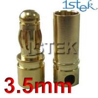 Wholesale 3.5mm banana connector For RC battery from china suppliers