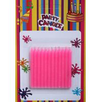 Quality Pink Glitter Birthday Candles (SFC0036) for sale