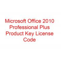 China Microsoft Office Professional Plus 2010 Product Key for sale