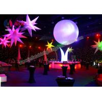 Wholesale Vertical Blow Up Five Stars Inflatable Lighting Balloon Prism Inflatable Lighting System from china suppliers