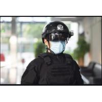 China Public Places Inspection  Ai - Powered Smart Helmets With Precision Infrared Thermometer on sale