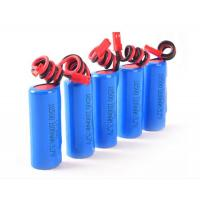 Wholesale 3.7V 1100mah Li - Ion 18650 Battery Pack for Searchlight / loudspeaker from china suppliers