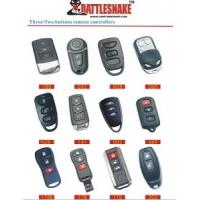 Wholesale Auto Accessories Electronics Car Remote Starter Alarm,With 3 Or 2 Buttons Metal Remote from china suppliers