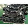 Grey / Black Excavator Rubber Tracks 200mm Wide For Yanmar Wb500 Ym10 Ymd60 for sale