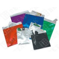 Wholesale Black / White Custom Print Business Envelopes Aluminum Foil Pouches from china suppliers