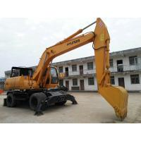 China Korean Used Wheel Excavator , Hyundai R200W Used 20 Ton Excavators Long Life Span on sale