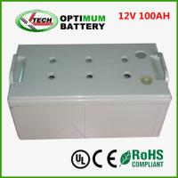 Wholesale Low-Discharge Rechargeable Lithium Battery 12v 100ah Battery Cell For Ev from china suppliers