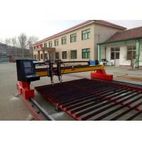 Wholesale Metal CNC Plasma Cutting Machine With Straight / Bevel Cutting Torch Optional from china suppliers