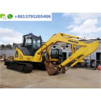 Wholesale Good Condition 5 ton mini Japan Excavator Komatsu PC55MR Digger with Air-conditioner from china suppliers