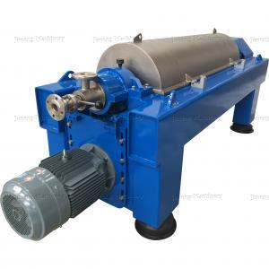 Quality Blue Color Decanter Centrifuge Machine Oil Field Watertreatment Sludge for sale