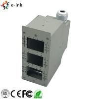 China Industrial DIN - Rail Fiber Patch Panel 24 Ports Harsh Environment Application on sale