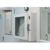 China UV Lamp Ss Pass Box Clean Area Double Tempered Glass Windows Type on sale