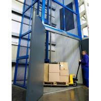 Wholesale Vertical guide rail elevators hydraulic warehouse cargo lift price from china suppliers