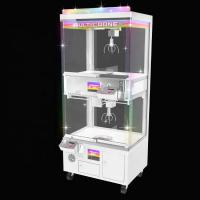 Wholesale Amusement Center Crane Claw Machine Acrylic Cabint And Tempered Glass Material from china suppliers