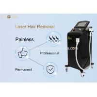 Safe Diode Laser Hair Removal Machine With 1200w 3 Waves Big Spot High Efficiency for sale