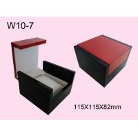 Wholesale Single Watch Wooden Jewelry Box, Personalized Watch Boxes With Pu / Foam Insert from china suppliers