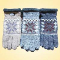 Wholesale Knitted Gloves Made of Acrylic and Polyester with Thinsulate Lining, OEM Orders are Welcome from china suppliers