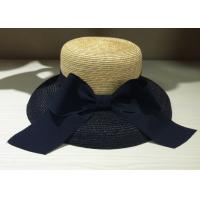 Wholesale Straw Braid Bowknot Womens Straw cowboy Hats 57cm with Straw Braid from china suppliers