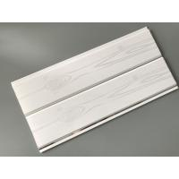 China Printing Surface Plastic Wall Liner Panels , White Wood Paneling For Walls on sale